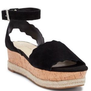 Marc Fisher Platform Ankle Buckle Faitful Sandals